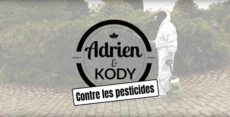 Adrien et Kody contre les pesticides