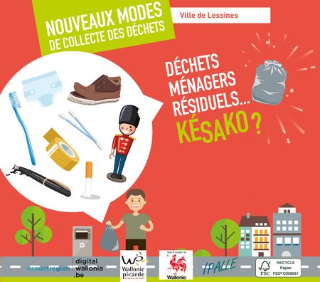 Collecte des déchets: du neuf pour 2020
