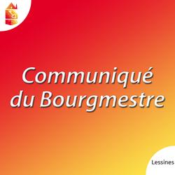 Communiqué du Bourgmestre, 16 janvier