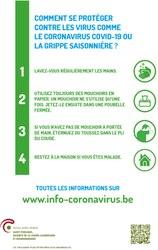 Coronavirus: prévention et recommandations