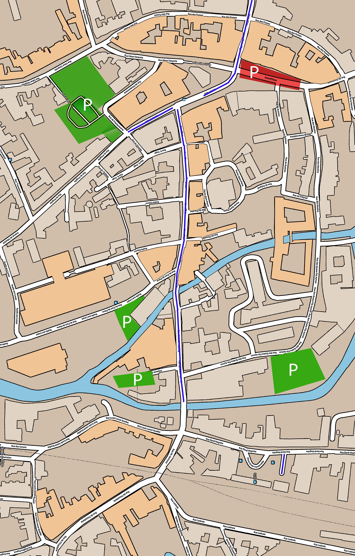 Zones parkings