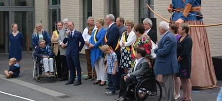 Inauguration à Bois-de-Lessines
