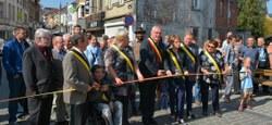 Inauguration Grand'Rue et rue Général Freyberg