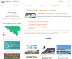 Inondations en Wallonie : le site utile