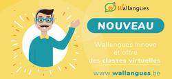 Nouveauté Wallangues: les classes virtuelles