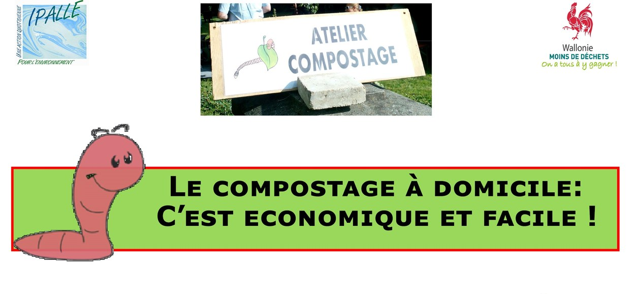 Les séances d'information sur le compostage reprennent au printemps !