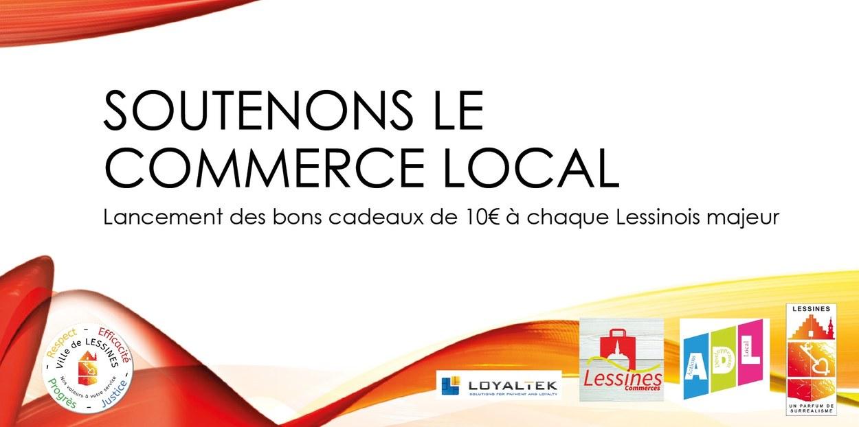 Carte cadeau: soutenons le commerce local