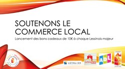 Carte cadeau: soutenons le commerce local