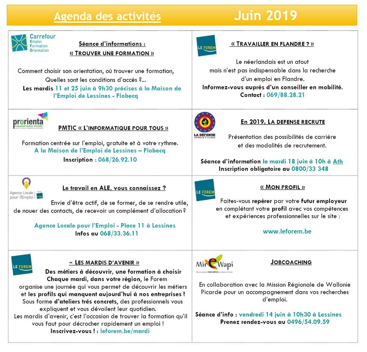 Juin 2019 Maison de l'Emploi