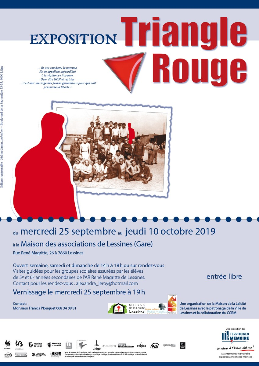 Expo Triangle Rouge