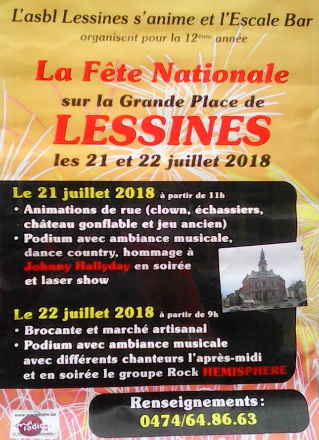 Fête nationale 2018