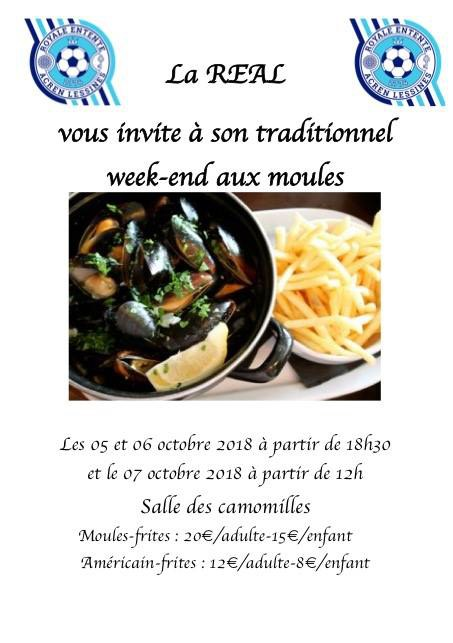 Week-end Moules