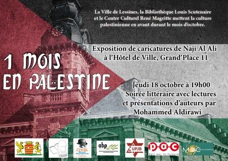 Soirée littéraire - 1 mois en Palestine