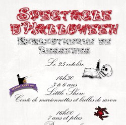 Spectacle d'Halloween