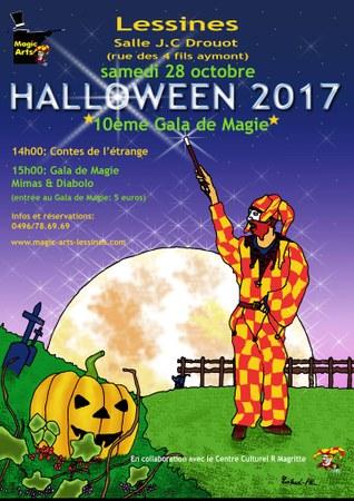Halloween 2017 - Gala de Magie