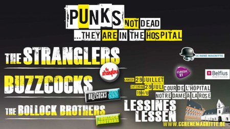 PUNKS NOT DEAD // The Stranglers + Buzzcocks + The Bollock Brothers