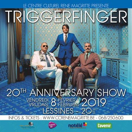 Triggerfinger - 20th anniversary show