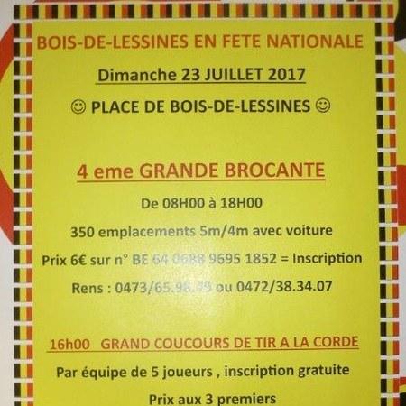 Bois-de-Lessines en Fête Nationale