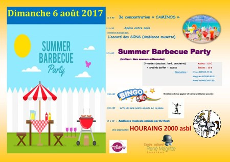 Houraing 2000 – Summer barbecue party