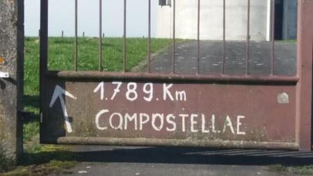 Inauguration du Chemin de Saint-Jacques de Compostelle