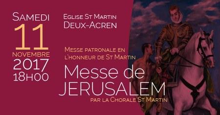 Messe de Jérusalem