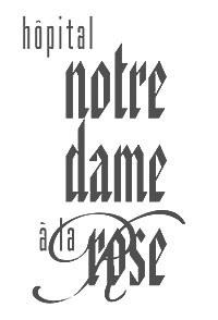 Hôpital Notre-Dame à la Rose - Logo