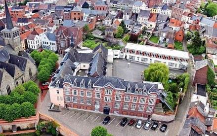 image aérienne école visitationstpierre