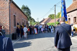 Inauguration Stèle Pierre Fontaine