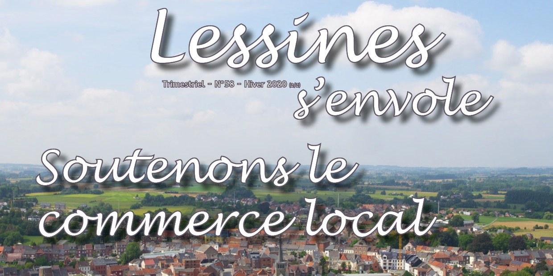 Soutenons le commerce local: répertoire Lessines s'envole