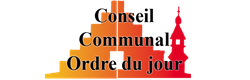 Conseil communal du 22 mars 2018: Ordre du jour