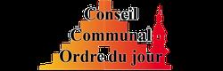 Conseil communal: Ordre du jour - 25 janvier 2018