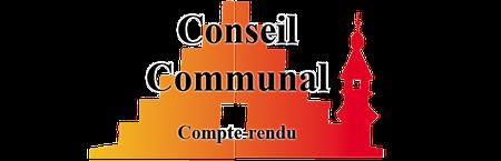 Conseil communal du 22 mars