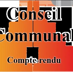 Conseil communal du 24 mai