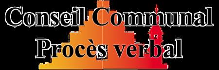 Conseil communal du 26 avril